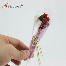Dollhouse 1:12 Scale Miniatures Romantic Red rose 09821