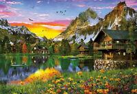Lago Alpino puzzle 5000 piezas Educa 17678
