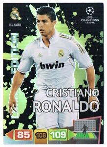 CRISTIANO RONALDO - Limited Ed Panini Adrenalyn XL Champions League 2011-12 Card