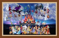 AU Fairy Tales Disney 5D Full Drill Diamond Painting Embroidery Cross Stitch ZG