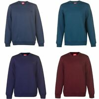 Slazenger SL Fleece Crew Sweatshirt Mens Sweater Top Jumper