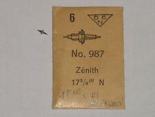 Zenith balance staff 18-28 19-28 axe de balancier Unruhwelle ht. 463 - piv. 12