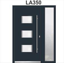 Haustür Mit 1Seintentele Welthaus WH75 Aluminium Mit Kunststoff Tür LA350  Türen