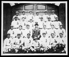1914 PHILADELPHIA A'S TEAM MACK BAKER BENDER COLLINS & MORE EARLY GREATS 8x10