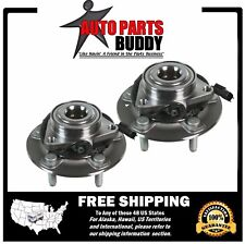 2 Front Wheel Hub Bearing Assemblies Left and Right Ftis 2012-2016 Ram 1500 All