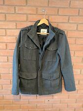 OLD NAVY Wool Coat Jacket Military Style Mens Size Small (S)