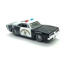 Maisto Pro Rodz Highway Patrol 1969 '69 Dodge Charger R/T Police 1/64 Die Cast