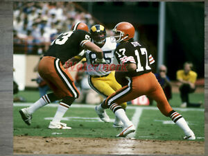 NFL Cleveland Browns QB Brian Sipe Game Action Color 8 X 10 Photo Picture