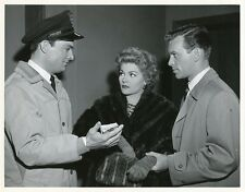 CLAIRE KELLY LARRY PENNELL SKIP HOMEIER JOHNNY EAGER ORIGINAL 1956 NBC TV PHOTO