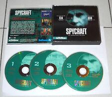 Gioco Pc Cd SPYCRAFT LA GRANDE SFIDA Cia Kgb – 3 cd OTTIMO ITA