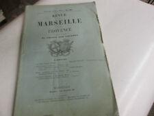 Revue de Marseille et de Provence  .. 5...1867.