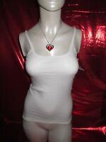Triumph Katia Shirt 01 - Größe 38 - weiß - NEU - Unterhemd - Dessous - lingerie