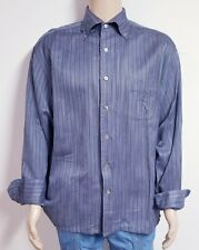 Alexander Julian Private Reserve Multi-Color Striped Shirt Mens XL - NWOT