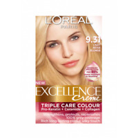 L'Oreal Excellence Creme Hair Colour - 9.31 Natural Light Beige Blonde