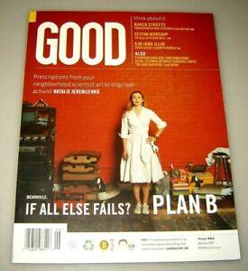 GOOD magazine #4 May/June 2007 education,urban planning,design,politics,culture