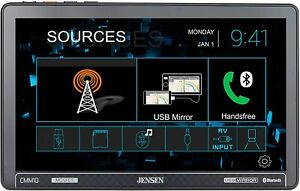 "CMM10 Jensen 10.1"" MULTIMEDIA RECEIVER WITH USB SCREEN MIRRORING NEW"