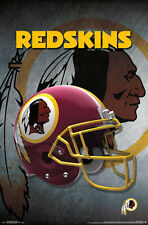 New WASHINGTON REDSKINS Official Team Logo Helmet Design NFL WALL POSTER