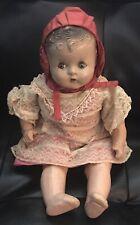 Mama Crier Composition Baby Doll circa 1930's