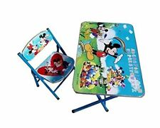 Disney Mickey Mouse Kids Foldable Study Table And Chair