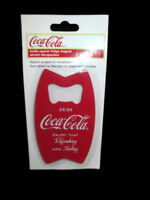 Coca-Cola Bottle Opener Magnet Stainless Steel - BRAND NEW