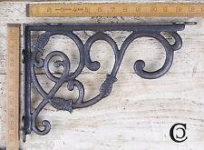 1 Paio design decorativo da appendere staffa dello scaffale GHISA ANT FERRO 230 x 340 mm