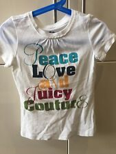 Girls Juicy Couture Tshirt Very Good Condition Age 4