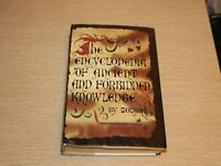 The Encyclopedia of Ancient and Forbidden Knowledge Zolar Book Club Edition 1970