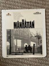 RCA CED VideoDisc - Manhattan - Woody  Allen Diane Keaton