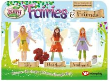 NEW My Fairy Garden Fairies & Friends from Mr Toys