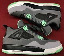 Jordan Retro IV 4 Green Glow Grey Black White Cement Fear 3 III Bred Mint Sz 7y