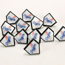 12 MLB Los Angeles Dodgers Cupcake Rings Dodgers Toppers Party Favors