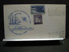 N/S SAVANNAH Naval Cover 1959 LAUNCHING Cachet ATOMIC LINER