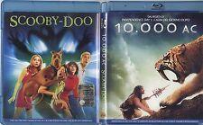 10.000 AC + Scooby-Doo - BOX 2 BLU-RAY USATO OTTIME CONDIZIONI