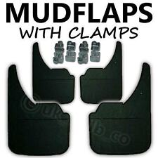 4 X NEW QUALITY RUBBER MUDFLAPS TO FIT  VW Golf Plus UNIVERSAL FIT