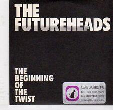 (EJ960) The Futureheads, The Beginning of the Twist - 2008 DJ CD