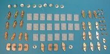 64 Chevy Impala SS Side Molding Clip Set, Complete, 2-Door 1964 GM  -NEW-