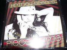 Britney Spears Piece Of Me Rare Australian Remixes CD Single - Like New