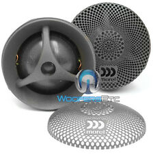 MOREL MT250 28MM CAR AUDIO 6-OHM 130W RMS SILK DOME TWEETERS NEW