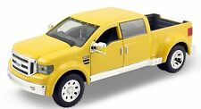 "Maisto Ford Might F-350 1:31 scale 8"" diecast model pickup truck Yellow M46"