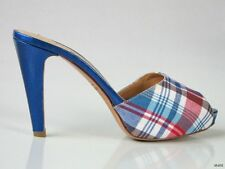 new $395 BETTYE MULLER platforms heels mules shoes Italy 35.5 US 5.5 - gorgeous