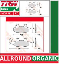 Jeu 2 Plaquettes frein Avant TRW MCB582EC MZ/MUZ SM SX 125 99-01