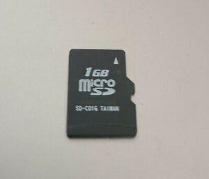 1GB Micro Sd Card Used Tested