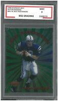 PEYTON MANNING #BP1 1998 BOWMAN'S BEST ROOKIE RC BEST PERFROMERS ~ BSG 9 MINT