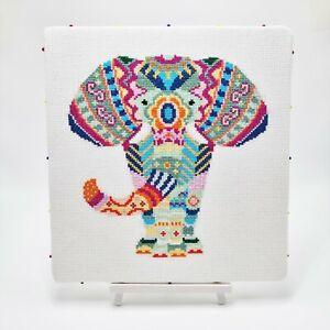 Mandala Elephant Cross Stitch Pattern by Meloca Designs