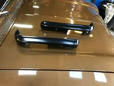 Ford Escort mk2 Front 1/4 Bumpers Brand new in black Mexico/1600 Sport etc pair.