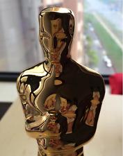1pc Oscars Statue ornaments Height 34cm Golden-plated metal 1:1 Oscar Awards New
