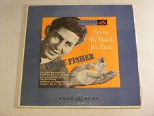 """Eddie Fisher estoy de humor para el amor ex Rca Victor Usa 1950s 10"""" Lp"""