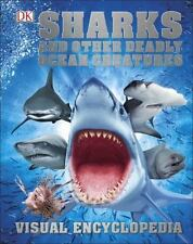 Sharks and Other Deadly Ocean Creatures Visual Encyclopedia-ExLibrary