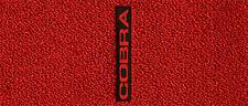 Mustang 1979-1993 Black Carpet Floor Mats 4PC w/Vertical Cobra Logo on Fronts