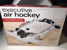 2003 Executive Air Hockey Table Top Game E&B Giftware Whimsical Game